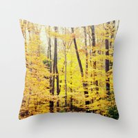 The Glow Throw Pillow
