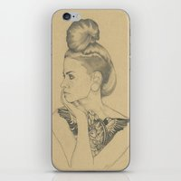 MARTINA iPhone & iPod Skin