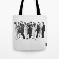 White People Tote Bag