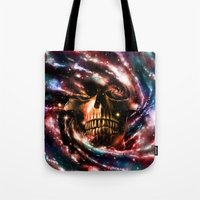 Space Skull II Tote Bag