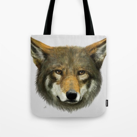 Wolf face Tote Bag