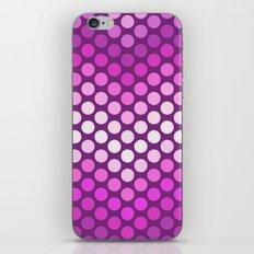 Dot Chevron: Pink Plum iPhone & iPod Skin