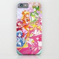 iPhone Cases featuring Sailor Senshi Dots Version by Trigun29