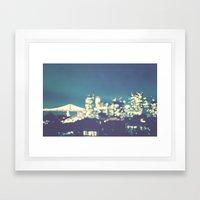 San Francisco Twinkle Framed Art Print