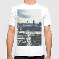 London Below  Mens Fitted Tee White SMALL