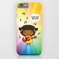 I love Rock N' Roll iPhone 6 Slim Case