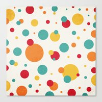 I'm Just A Bit Dotty! Canvas Print