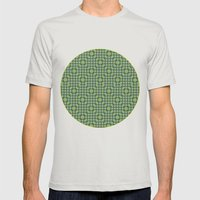 Chromis Viridis Mens Fitted Tee Silver SMALL