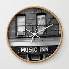 'Music Inn' New York Wall Clock
