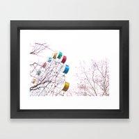 De Fair Framed Art Print