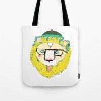 Mr Lion Tote Bag
