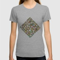 Cells Womens Fitted Tee Athletic Grey SMALL