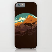 iPhone & iPod Case featuring Jurassic escape by Steven Toang