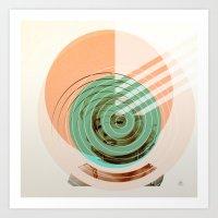 Der Kreis der Erinnerung 2 Art Print