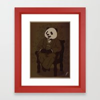 The Alumni Cub Framed Art Print