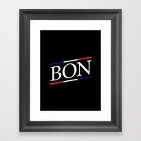 BON II Framed Art Print