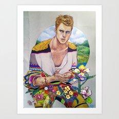 The Transcendental Gentlemen Art Print