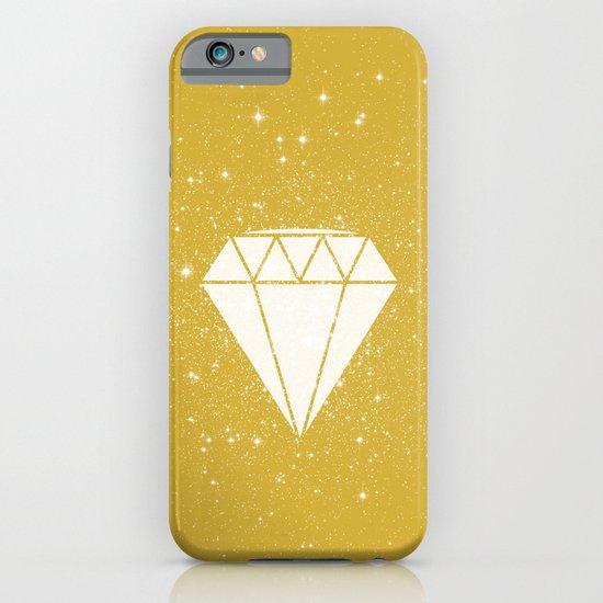 Space Diamond (gold) iPhone & iPod Case