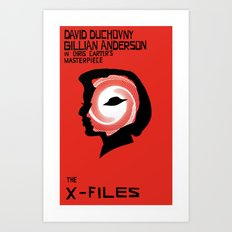 The X-Files As Vertigo Art Print