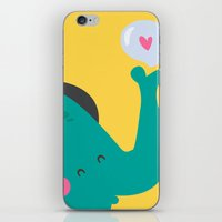 Trompitas iPhone & iPod Skin