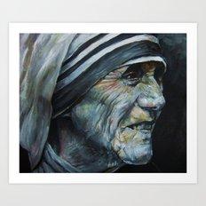 Mother Teresa Art Print