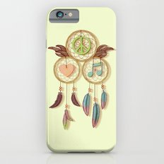 Peace, Love and Music Slim Case iPhone 6s