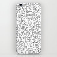 Doodle Do iPhone & iPod Skin