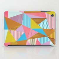 Wooden Colorful iPad Case
