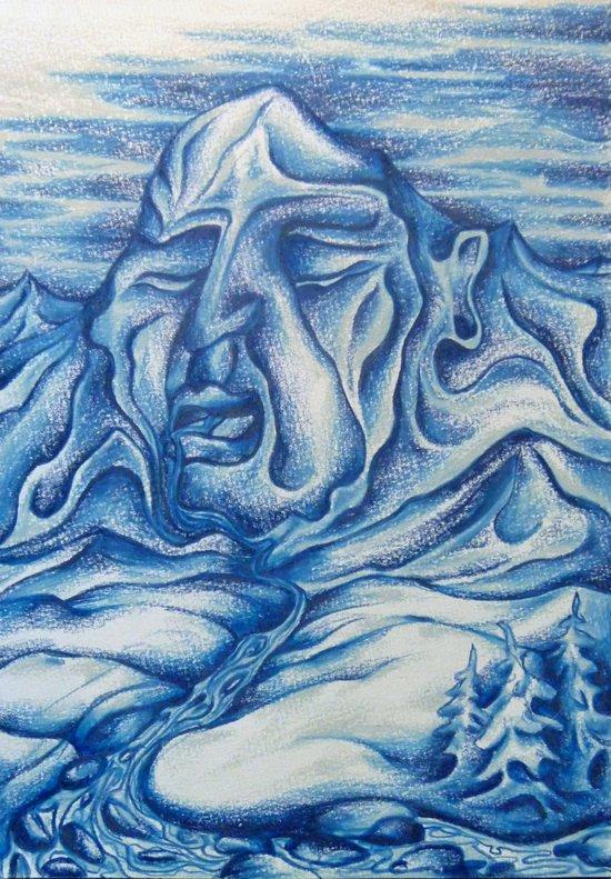 Winter's Slumber Art Print