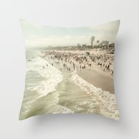 Jump In Throw Pillow