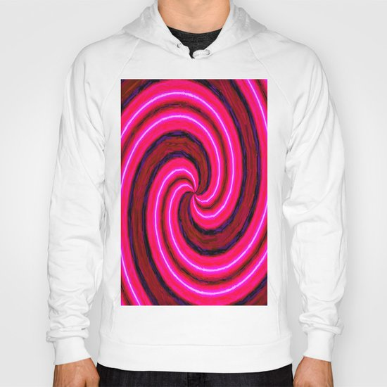 Abstract Pink Modern Hoody
