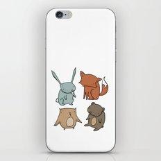 Woodland Animals iPhone & iPod Skin