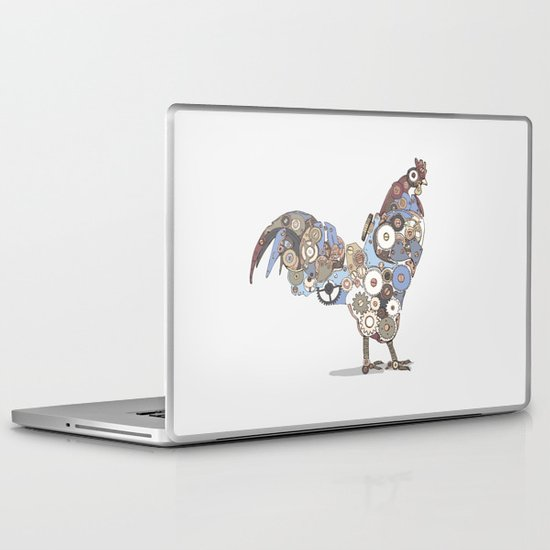 Chicken Alarm Laptop & iPad Skin