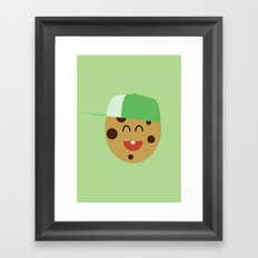 COOKIE SMILE Framed Art Print