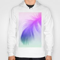 Painted Feather Hoody
