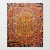 Muladhara - Root Chakra Canvas Print
