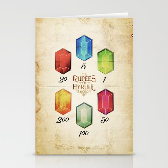 Legend of Zelda - Tingle's The Rupees of Hyrule Kingdom Stationery Card