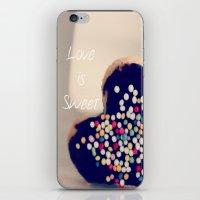Love is Sweet  - JUSTART © iPhone & iPod Skin