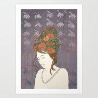 Simone Art Print