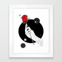Tuxedo Mask Framed Art Print