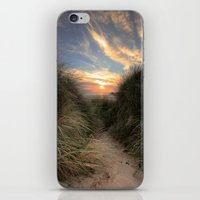 Sunset Through The Dunes iPhone & iPod Skin