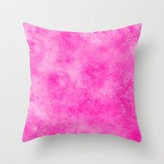 Galaxy Pink Throw Pillow