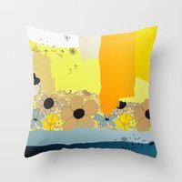 Seventy Seven Throw Pillow