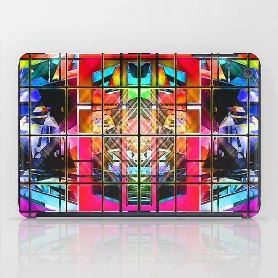 3-D-GEOMETRY AND COLOR. iPad Case