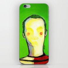 HIDDEN FACE iPhone & iPod Skin