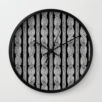 Cable Row B Wall Clock