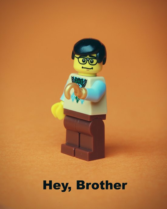Hey Brother! Art Print
