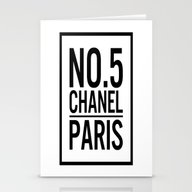 No. 5. Chanell Stationery Cards