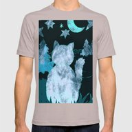 Night Watch Mens Fitted Tee Cinder SMALL