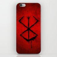 The Berserk Addiction iPhone & iPod Skin